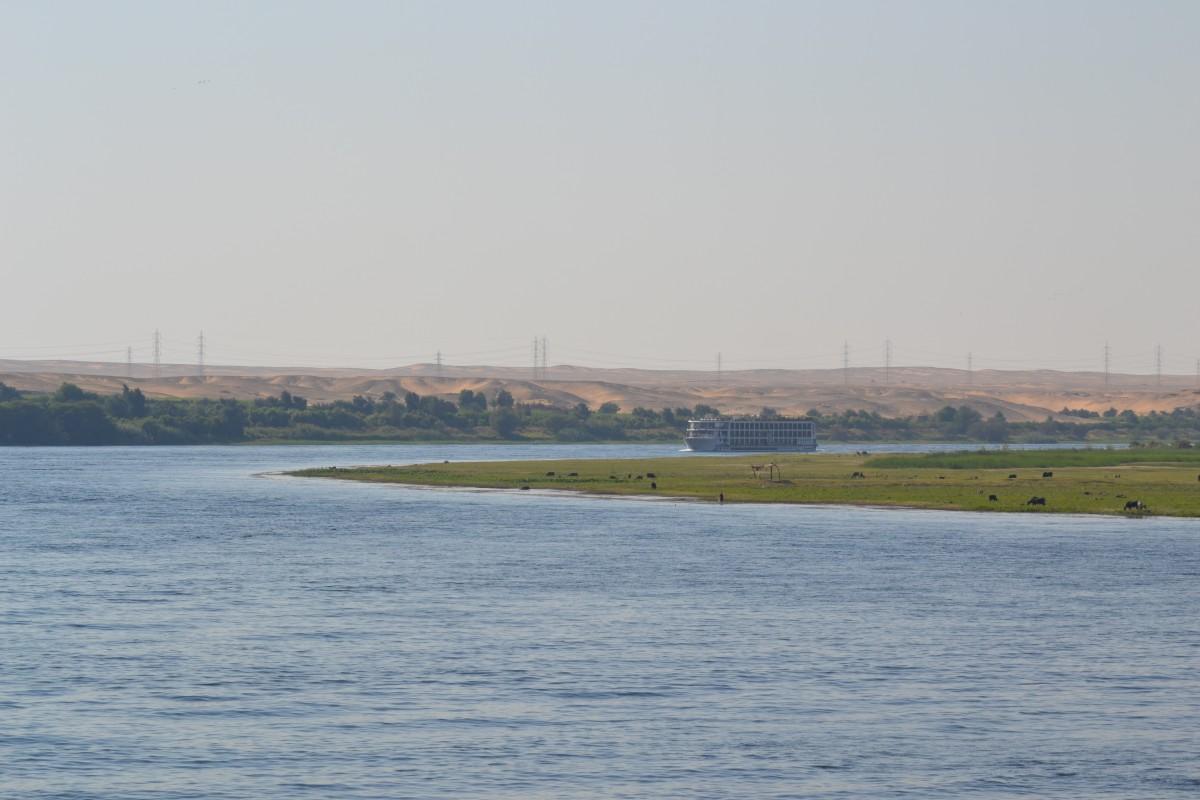 dolce scorrere del Nilo egitto