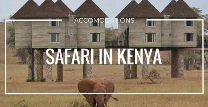 Safari: accomodations degne di nota