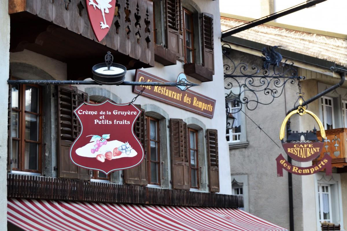 mangiare a Gruyères