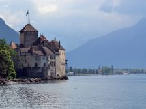 Chillon: a fairy tale castle