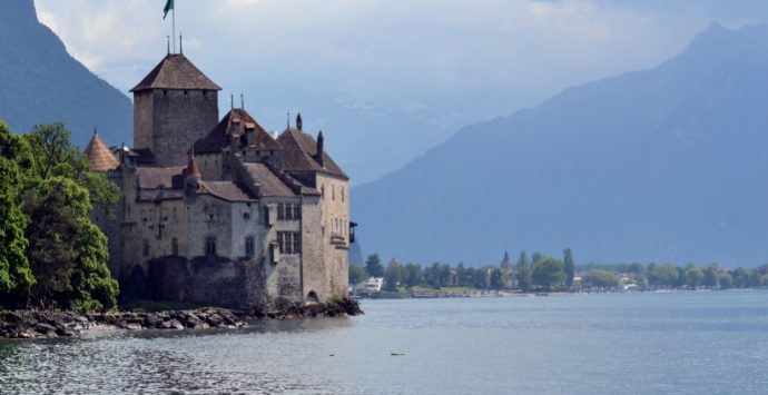 Chillon: a fairy tale castle