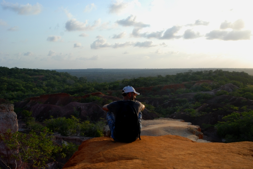 Overlooking Marafa