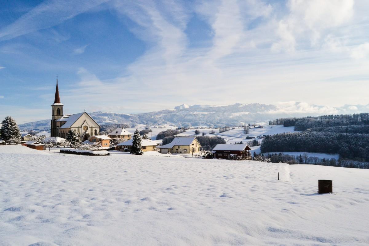 svizzera inverno