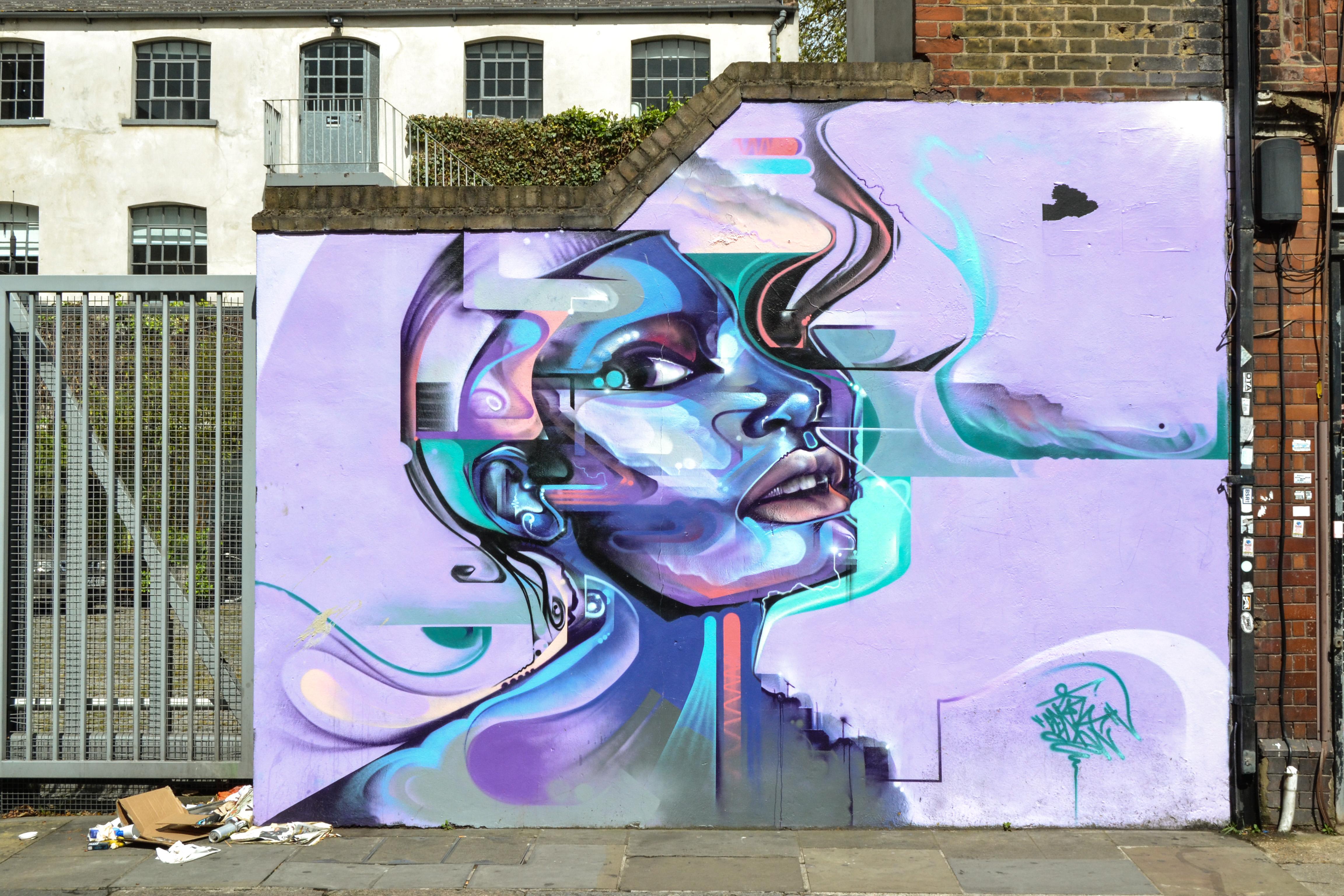 Londra murales foto