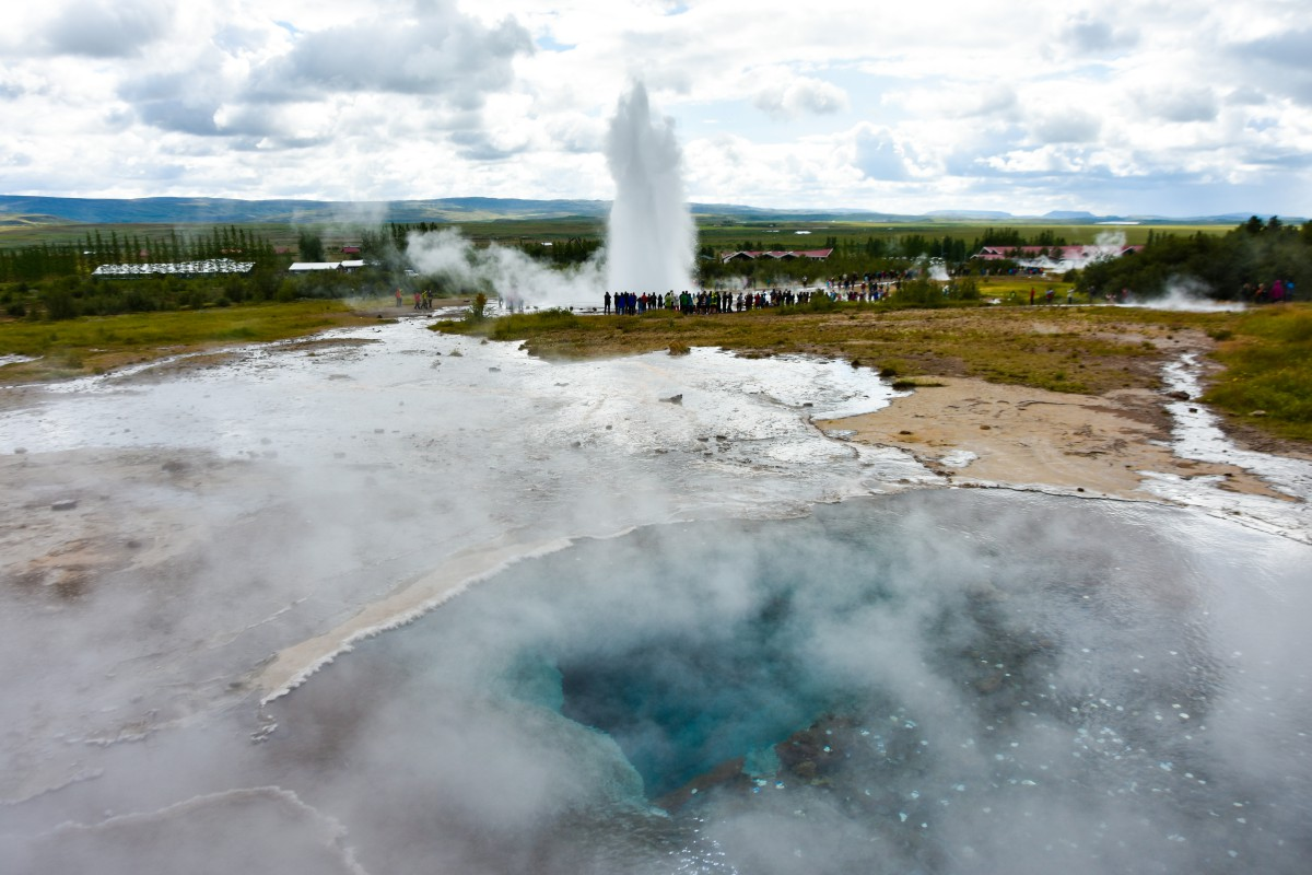 Islanda: il circolo d'oro Strokkur