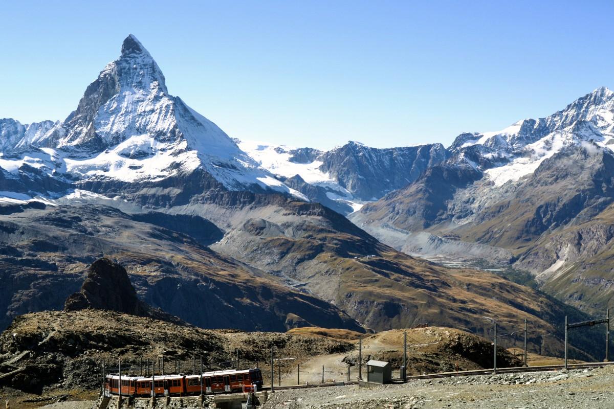 Zermatt_Gornegrat trein