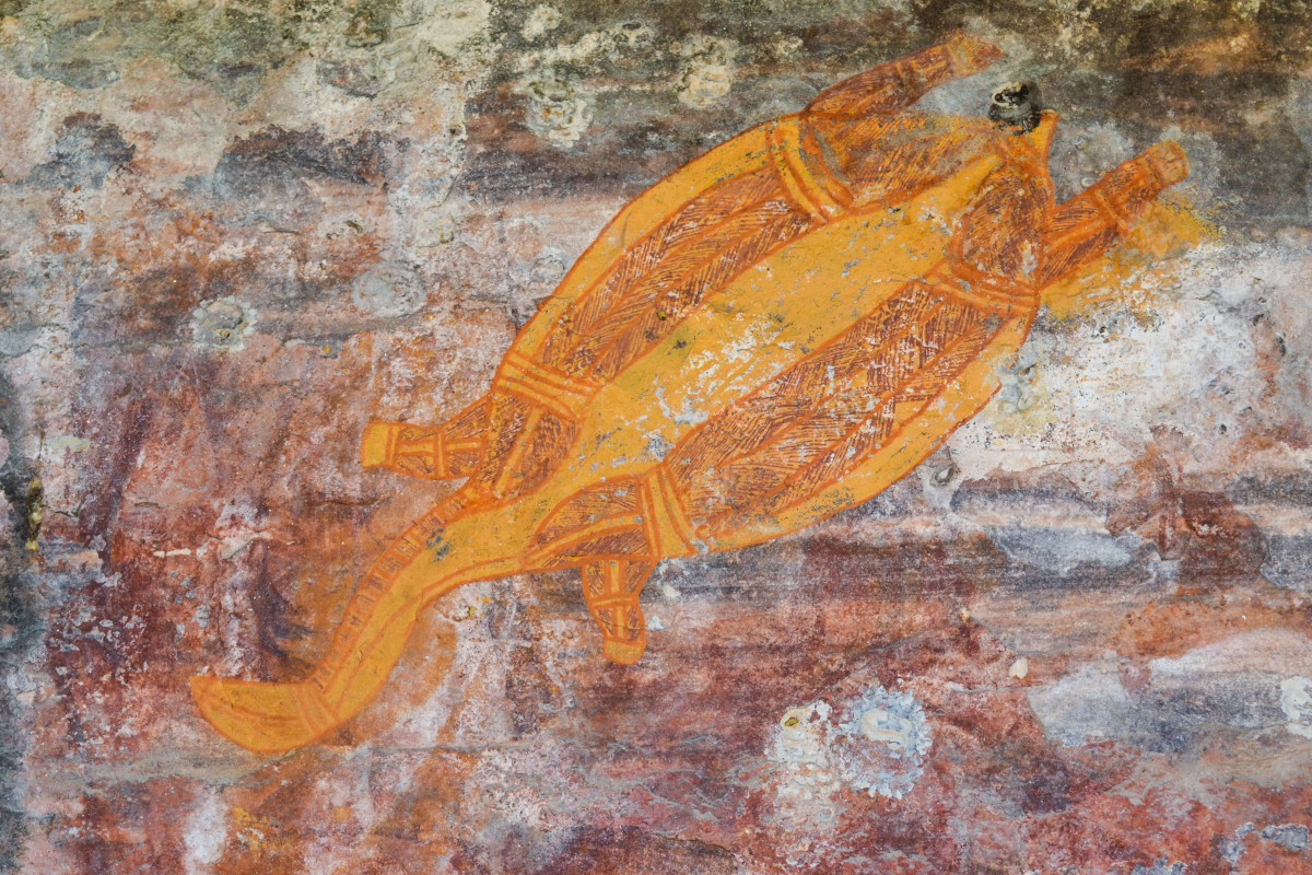 Kakadu_arte rupestre