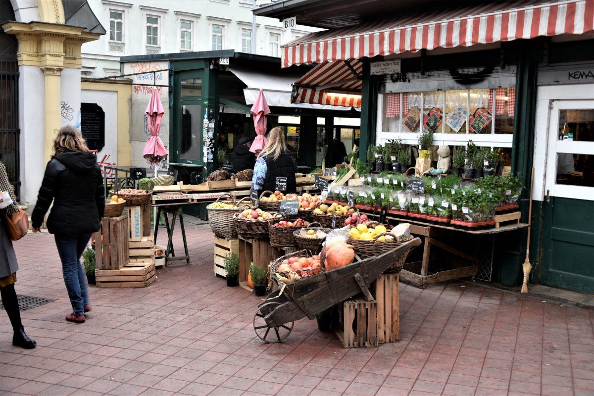 Naschmarkt Mangiare a Vienna