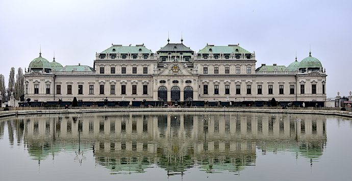Guardare Vienna dall'alto in basso