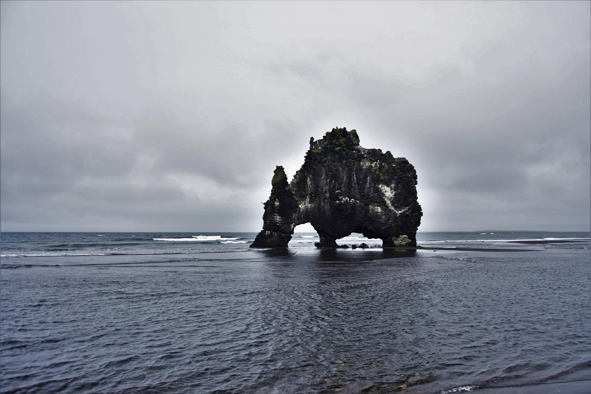 Hvítserkur Islanda