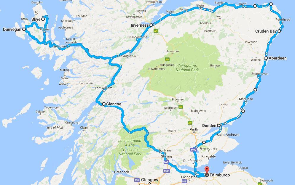 Da Edimburgo a Skye