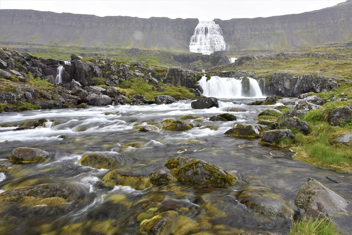 Dynjandi cascate islandesi