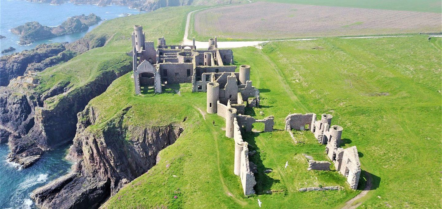 Il Castello di Slains: dove Stoker incontrò il Conte Dracula